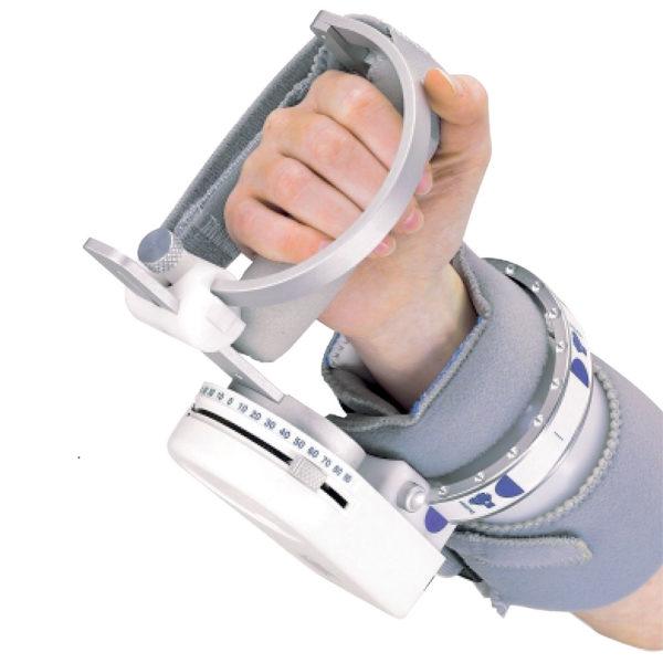 Mobilizzazione passiva - Artromot H - Kinetec polso